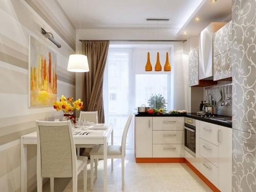 Интерьер кухни 20 квадратов фото