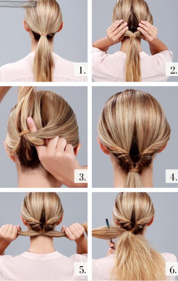 Как делать простые причёски на каждый день